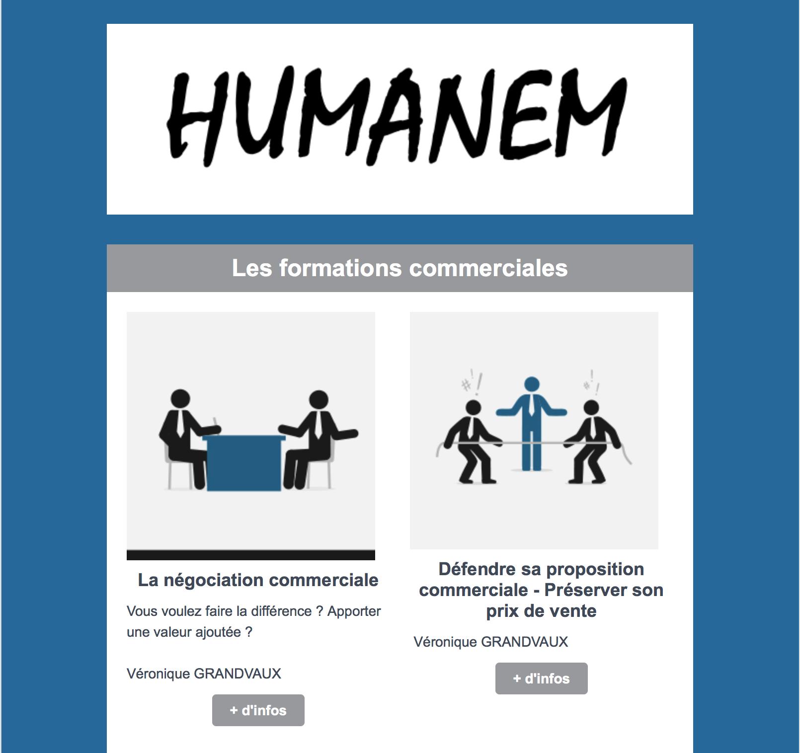 Lettre D Informations Formations Commerciales Humanem Humanem